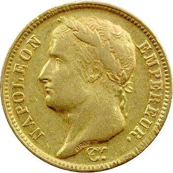 Premier Empire, 40 Francs Empire, 1810 Lille