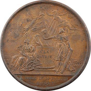 Constitution, Confédération des Français, 1790 Paris