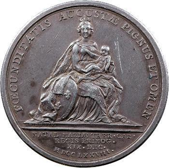 Louis XVI, Naissance de Marie-Thérèse Charlotte, 1778 Paris