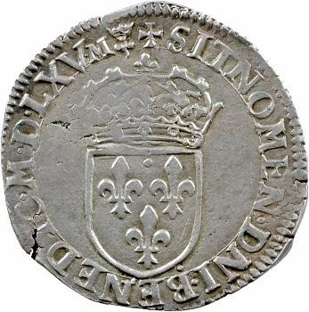 Charles IX, teston 6e type, 1565 Lyon