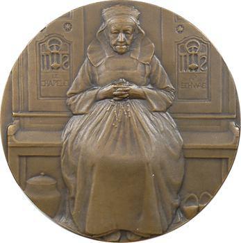 Schwab (André Pierre) : Bretonne ou le chapelet, s.d. Paris