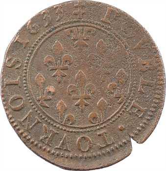 Phalsbourg-Lixheim (principauté de), Henriette, double tournois 1er type, 1633 Lixheim