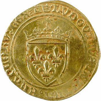 Louis XI, écu d'or au soleil, Tours