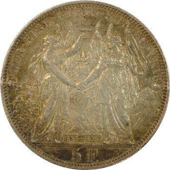 Suisse, Lausanne, 5 francs ou thaler de tir, 1876