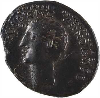 Syrie, Chalcis [Liban, actuelle Anjar], Auguste et Zénodore, bronze AE19, An [2]86 = 27-26 av. J.-C