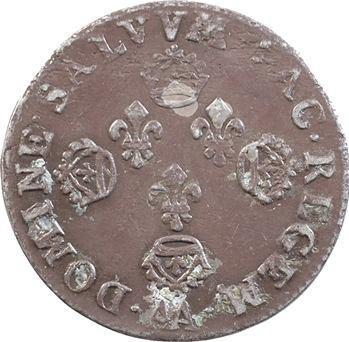 Louis XIV, pièce de dix sols aux quatre couronnes de Metz, 1705 Metz