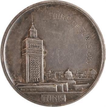 Tunisie, la foire de Tunis, par Rischmann, 1934