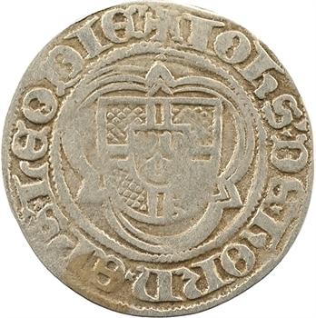 Liège (principauté épiscopale de), Jean de Hornes, florin d'or, s.d. (1485-1505)