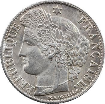 IIIe République, 50 centimes Cérès, 1887 Paris