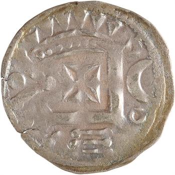 Vendôme (comté de), denier anonyme (7 points), s.d. (c.1180-1205)