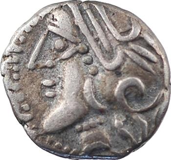 Lingons, denier KALETEDOY, type au delta, c.80-50 av. J.-C