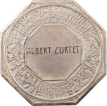 Société Française de Numismatique, jeton d'argent, 1932 Paris