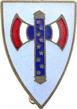 IIe Guerre Mondiale, insigne, les Jeunes Filles du Maréchal Pétain, s.d. Paris
