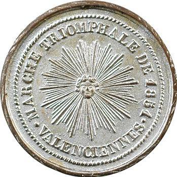 Valenciennes, la Société des Incas, 1851 Paris