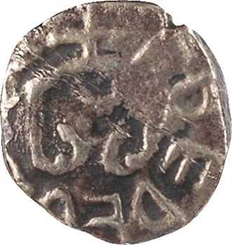 Neustrie, Troyes, denier du monétaire FREDEB[ERT ?], c.700-730