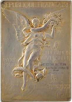 Vernon (F.) : Exposition Universelle et Jeux Olympiques de Paris, concours de sauvetage sur l'eau, 1900 Paris