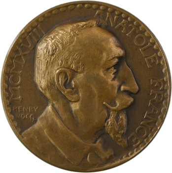 Nocq (H.) : Anatole France, N° 300, 1918 Paris (Canale)