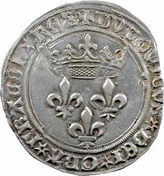 Louis XI, gros de Roi, Tours