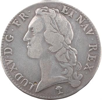 Louis XV, écu au bandeau, 1746 Troyes