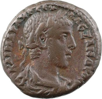Égypte, Sévère Alexandre, tétradrachme au buste d'Hélios, An 11 (231-232) Alexandrie