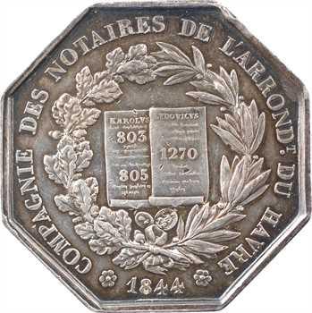 Louis-Philippe Ier, Compagnie des notaires du Havre, 1844 Paris