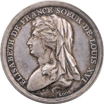 Louis XVI, l'exécution d'Elisabeth de France, par Loos, 1794 Berlin
