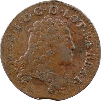 Lorraine (duché de), Léopold, liard, 1706 Nancy
