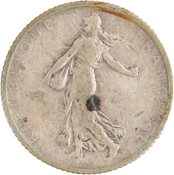IIIe République, 1 franc Semeuse, 1900 Paris