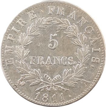 Premier Empire, 5 francs Empire, 1811 Paris