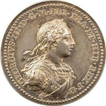 Royaume-Uni, couronnement de Georges III par J. L. Natter, 1761 Londres
