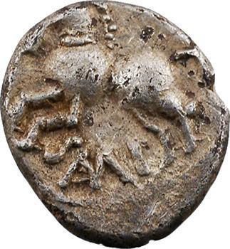Séquanes, denier Q.DOCI SAM.F, c.57-50 av. J.-C.