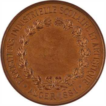 Algérie, Expositions industrielle scolaire et artistique d'Alger, 1881 Paris