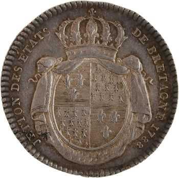 Louis XVI, les États de Bretagne, 1788 Paris