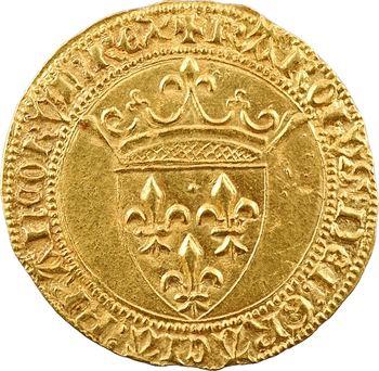 Charles VI, écu d'or à la couronne, 1re émission