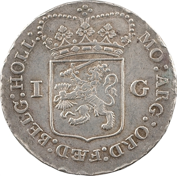 Pays-Bas, Frise occidentale (province de), florin ou gulden, 1793