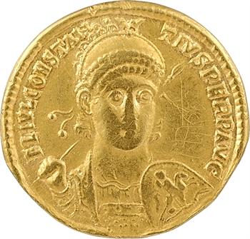 Constance II, solidus, Antioche, 8e officine, 354