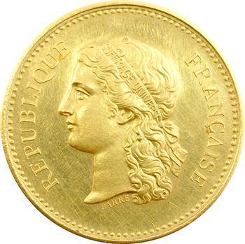 IIIe République, médaille d'or, Prix du conseil général, s.d. (après 1880) Paris