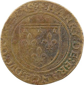 Dauphiné, Viennois (dauphins du), François (1518-1536), en association avec son frère Henri (futur Henri II), jeton, s.d. (1519-1536) Paris