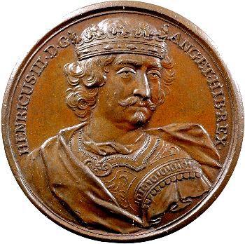Angleterre, série des Rois par Jean Dassier, Henri III, s.d. (c.1731-1732)