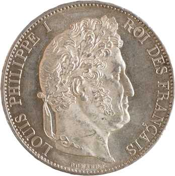 Louis-Philippe Ier, 5 francs IIIe type Domard, 1848 Paris