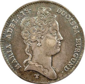 Bourgogne (duché de), Marie-Adélaïde de Savoie, 1709