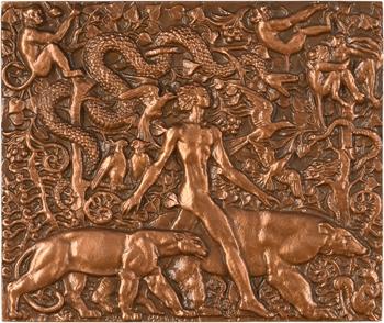 Ve République, Mowgly (Le Livre de la jungle), par Delamarre, 1981 Paris