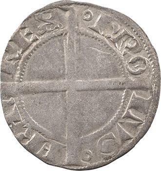 Dauphiné, Viennois (dauphins du), Charles II dauphin et Roi (Charles VI), liard dentillé, s.d