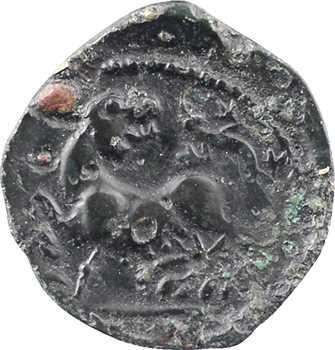 Carnutes, bronze PIXTILOS à la louve, classe II, c.40-30 av. J.-C