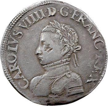 Charles IX, teston, 1562 Nantes