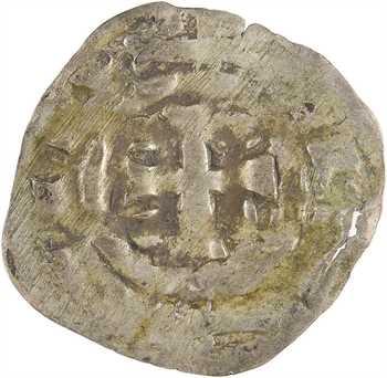 Normandie (duché de), Richard II et successeurs, denier aux temples accolés, s.d. Rouen