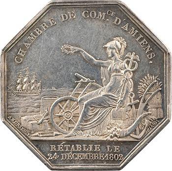 Charles X, rétablissement de la Chambre de commerce d'Amiens, s.d. Paris