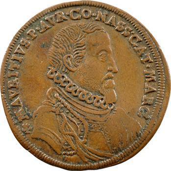 Orange (Principauté d'), Maurice de Nassau, jeton par Hans Krawinckel, Nuremberg