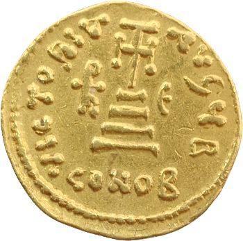 Héraclius, Héraclius Constantin et Héraclonas, solidus, Constantinople, 638-639