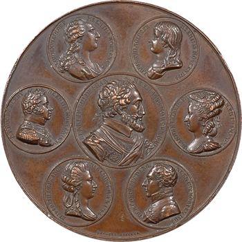 Louis XVIII, à la mémoire d'Henri IV et des victimes de la Révolution, 1820 Paris